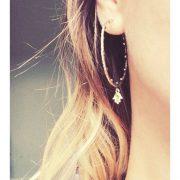 bija hoop earrings