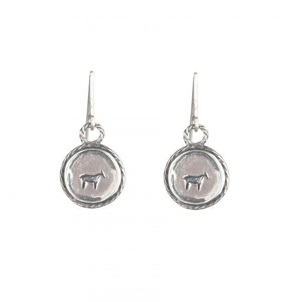 bau animal earrings