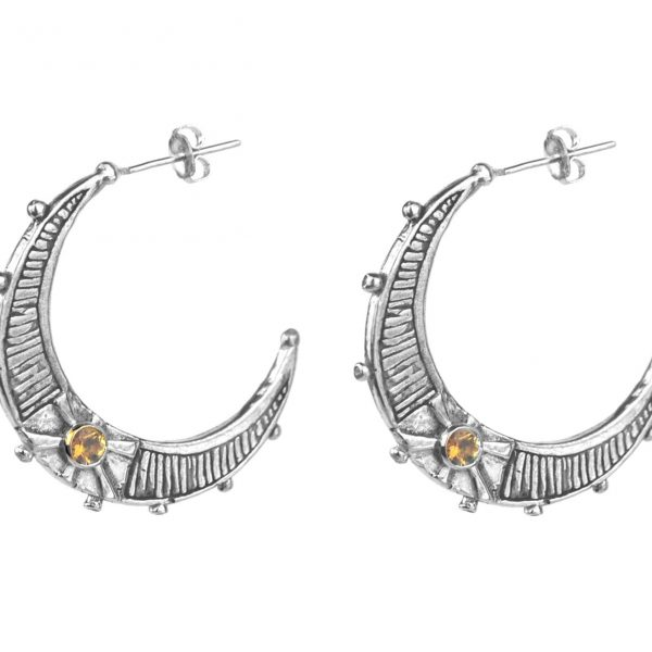 Aurelia moon hoops