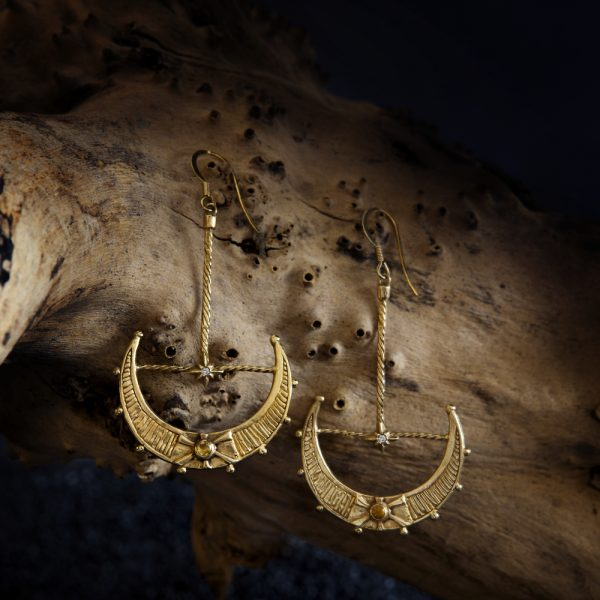 aurelia moon earrings