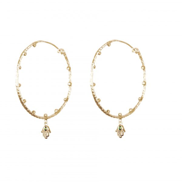 bija hoop earrings
