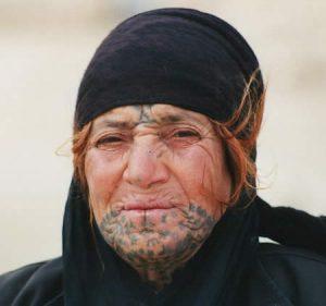 Bedouin-woman-tribe-tattoo