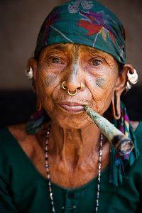 Tattoo woman orissa india