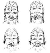 Inuit tattoo designs