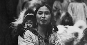 inuit woman tattoo