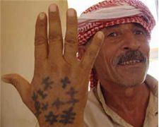 iraqi man tattoo