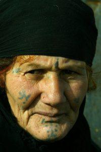 Iraqi woman tattoos