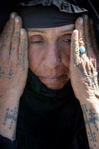 bedouin iraqi woman tattoo