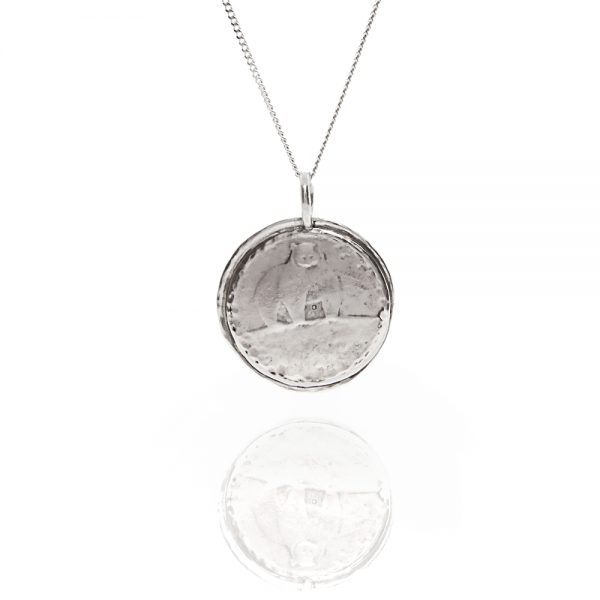 moon bear coin necklace
