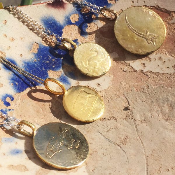 coin necklace making workshop