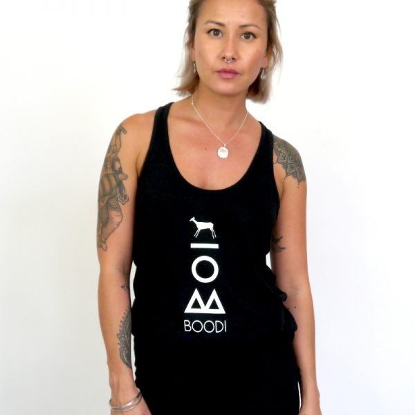 womens vegan vest top
