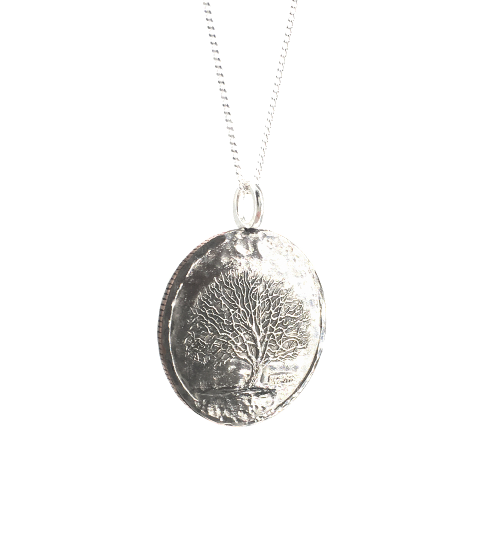 tree coin necklace