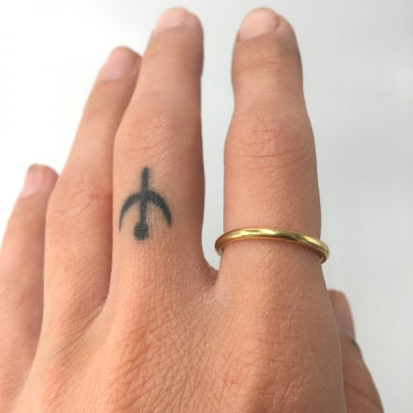 plain band ring