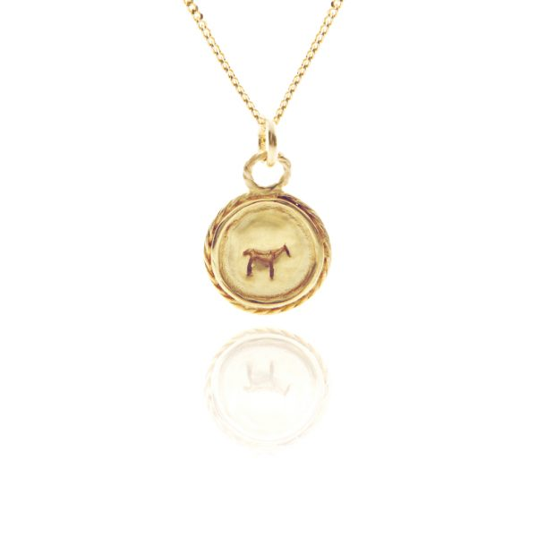 bau animal charm necklace