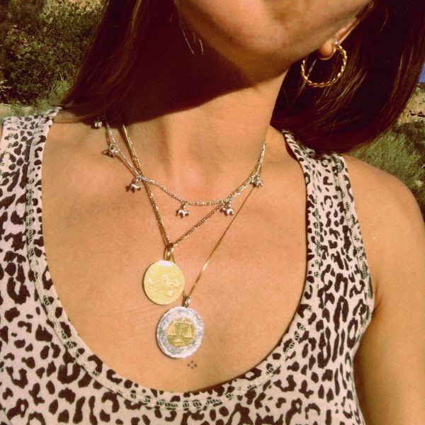 Cave animal charm necklace