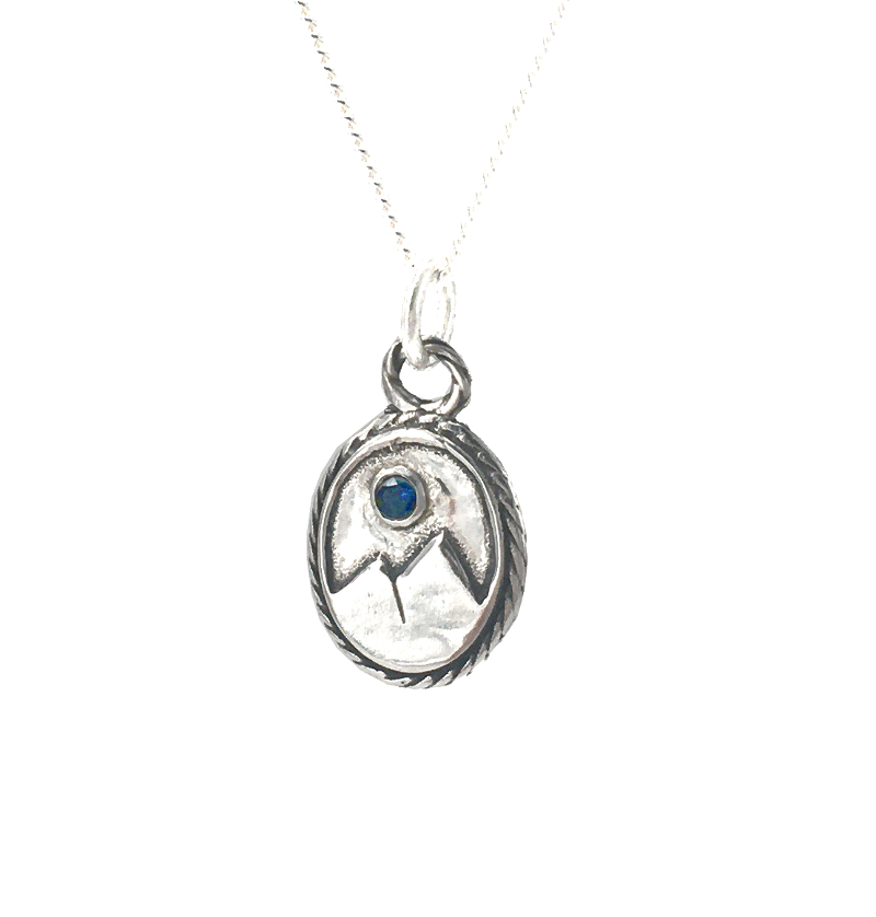 Moon Mountain Necklace