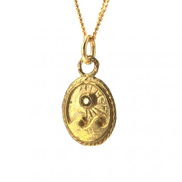 ocean sun necklace