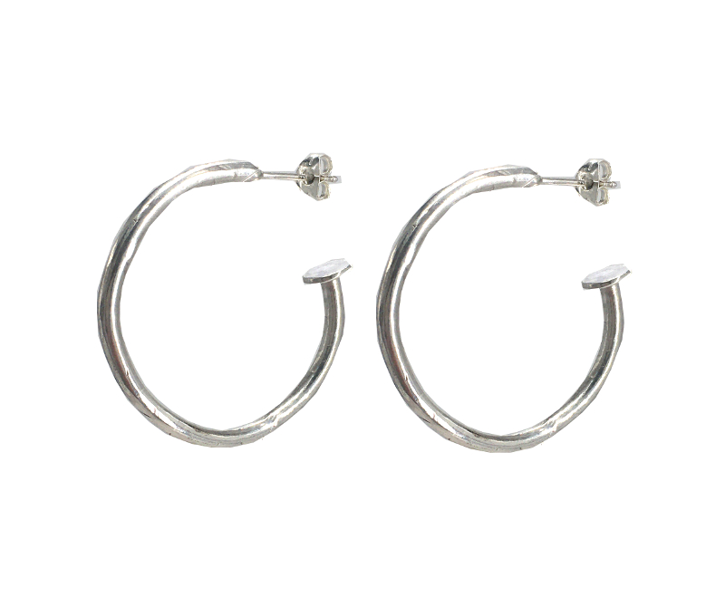 Chunky Round Hoops