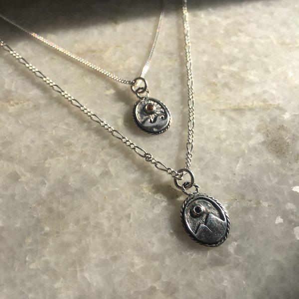 Moon Mountain necklace