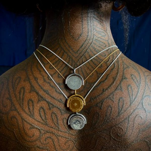 Shiva Shakti necklace