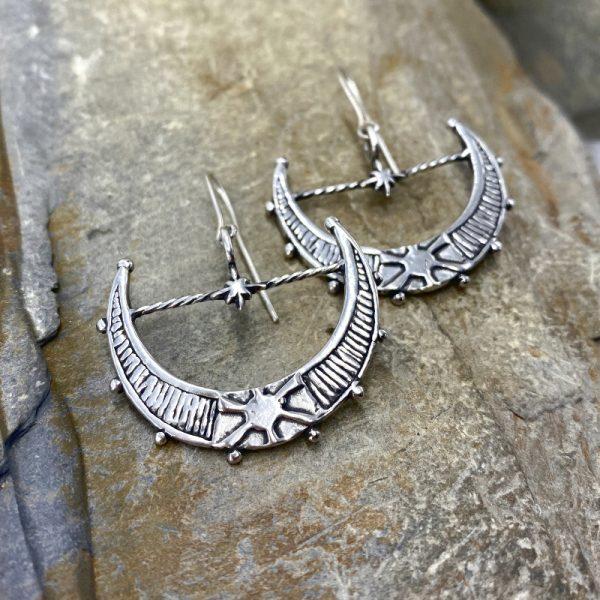 Aurelia Moon Earrings